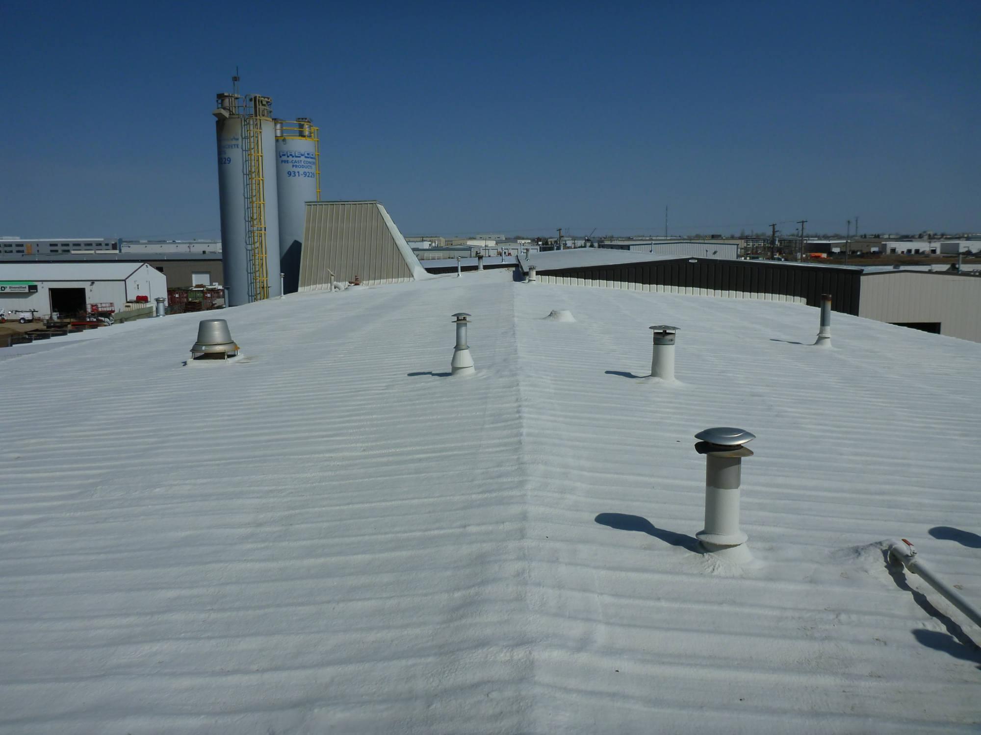 Spray Polyurethane Foam Roofing - Western Urethane